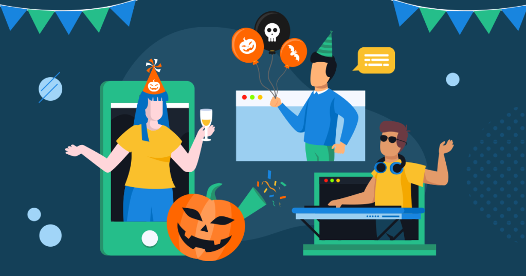 Fun Ways to Celebrate Halloween with Your Remote Team