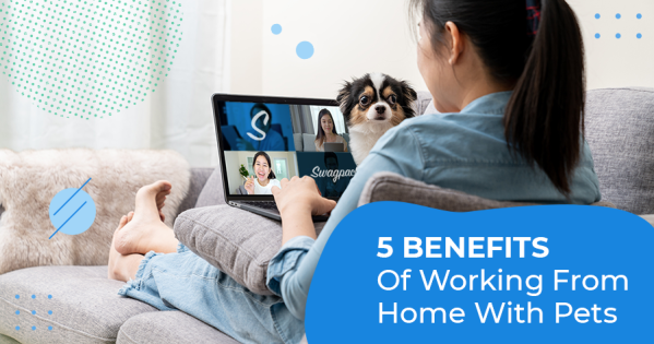 Benefits of working from home with pets